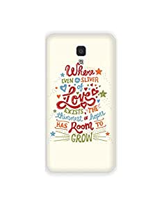 Xiaomi MI4 ht003 (151) Mobile Case from Mott2 - Love Grow Heart Pure (Limited Time Offers,Please Check the Details Below)