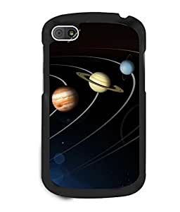 printtech Solar Planets Galaxy Back Case Cover for BlackBerry Q10