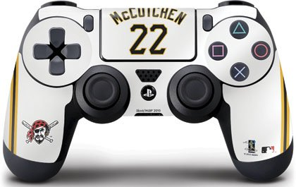 MLB - Pittsburgh Pirates - Pittsburgh Pirates #22 Andrew McCutchen - Skin for Sony PlayStation 4 / PS4 DualShock4 Controller