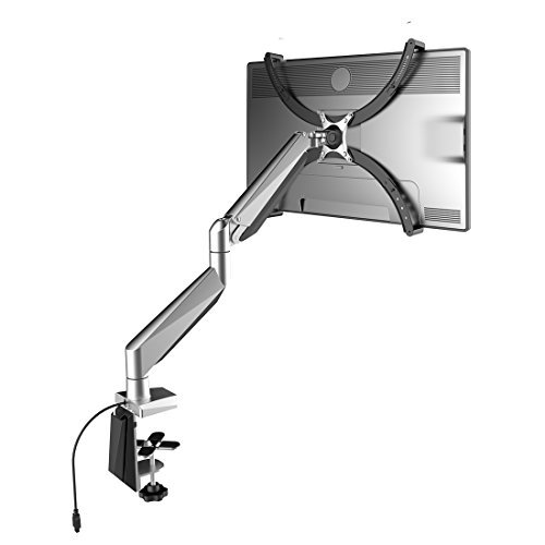Loctek Heavy Duty Gas Spring LCD Arm Desk Stand