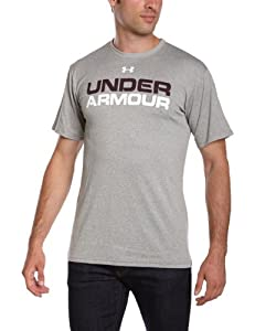Under Armour INTL Wordmark Tee - Camiseta para hombre grau (25) Talla:L (LG)