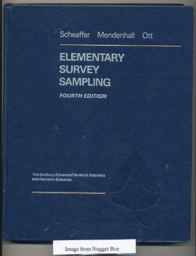 Elementary Survey Sampling (Statistics)