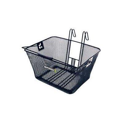 Basil Bern Lift-Off Bicycle Basket (Black)