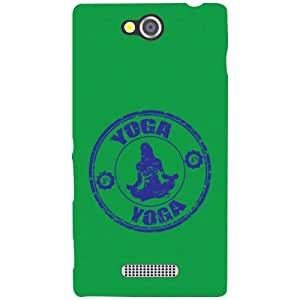 Sony Xperia C Back Cover - Yoga Designer Cases