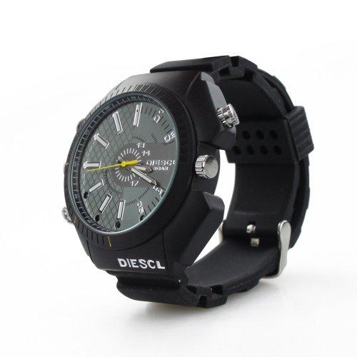 【yuusyou】1080P赤外線機能付 防水型メモリ内蔵腕時計型ビデオカメ...
