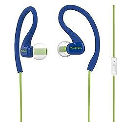 Koss KSC32I B Sport Clip Headphones (Blue)