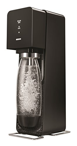 Sodastream Source Gasatore (include 1 cilindro in licenza d'uso ), colore: Nero