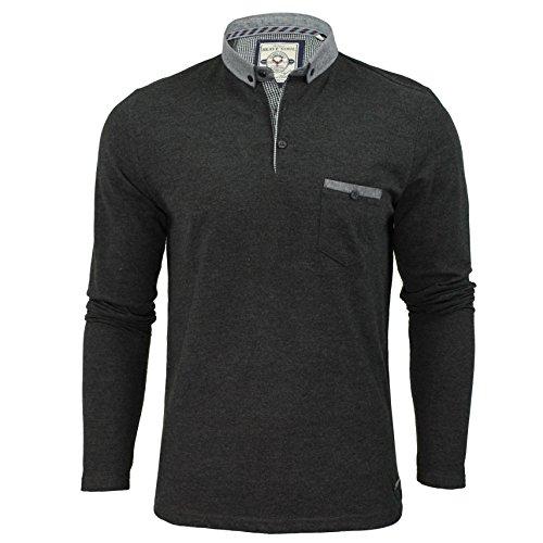 mens-polo-t-shirt-bravesoul-hera-denim-colour-long-sleeved-sleeved-top-s-xl