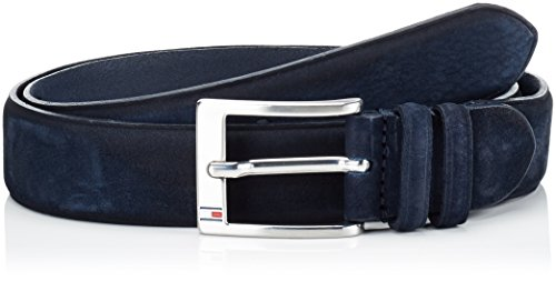 Tommy Hilfiger Houston Adjustable Belt, Cintura Uomo, Blu (Navy Blazer Pt 416), 100 (Taglia Produttore:100)