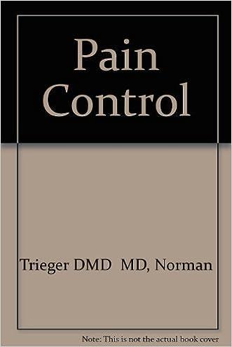Pain Control, 2e