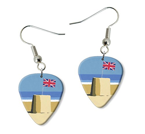 sandcastle-union-jack-martin-wiscombe-guitare-mediator-pick-boucles-doreilles-earrings-vintage-retro