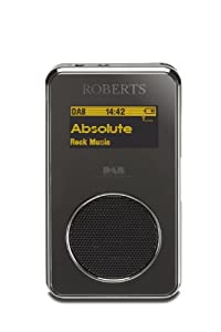 Roberts SportsDAB3 DAB/DAB+/FM RDS Personal Digital Radio with Loudspeaker and OLED Display (discontinued by manufacturer)