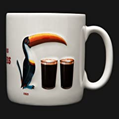 Guinness Gilroy Mug Twin Toucan