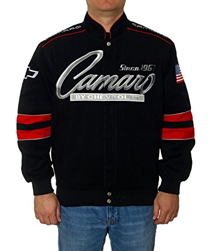 Chevy Camaro Cotton Twill Jacket (X-Large) (2002 Rc Camaro Body compare prices)