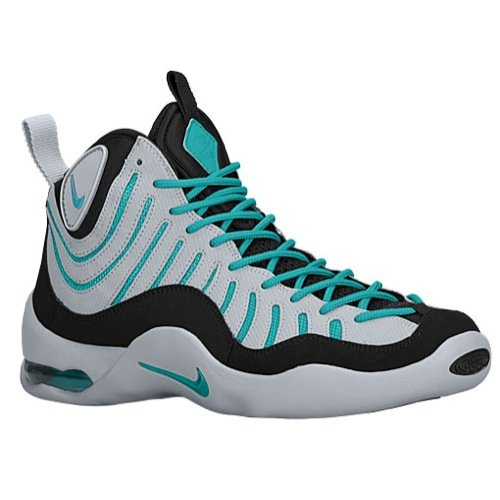Nike Air Bakin Wolf Grey Turbo Green (316383-004) mens Shoes (Nike Air Bakin compare prices)