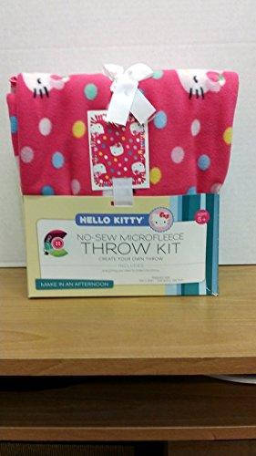 Springs-Creative-Hello-Kitty-Multi-Dots-Microfiber-Throw-Kit