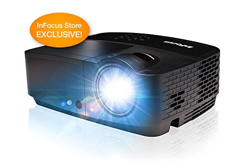 InFocus-IN118HDxc-1080p-DLP-Projector-HDMI-3200-Lumens-150001-Contrast-Ratio-3D