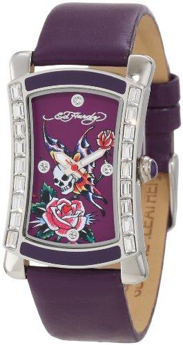 Ed Hardy Women's OA-SY Oasis Purple Watch