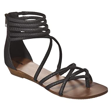 Product Image Women's Mossimo® Pari Strappy Sandals - Black
