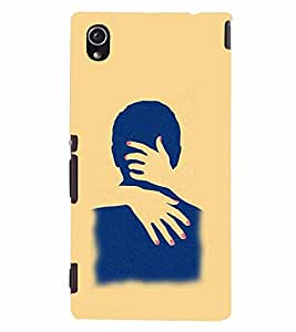 PrintVisa Hot & Sexy Couple 3D Hard Polycarbonate Designer Back Case Cover for Sony Xperia M4 Aqua