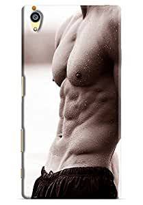 Omnam Boy Abs Printed Designer Back Cover Case For Sony Xperia Z5 Premium