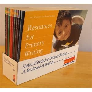 complete set units of study for primary writing a yearlong curriculum