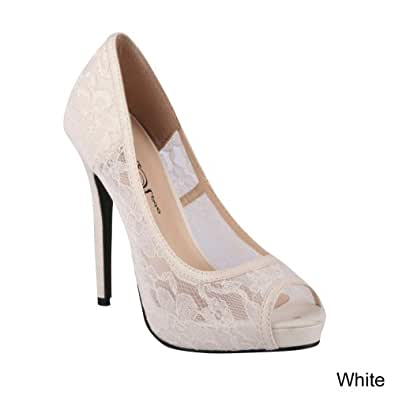 Amazon.com: Wild Rose Women's Lorena 01 Pumps Shoes: Shoes