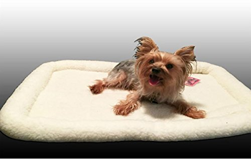 Durable Cozy Soft Pet Dog Bed Mat Cushion Dog/Cat Bed Available in many Size's (XXSmall: 22in x 15in x 3in)