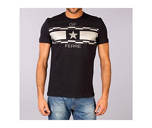 gianfranco-ferre-homme-tee-shirts-manches-courtes-xf2711-marine-bleu-fonce-s