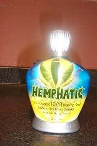 Designer Skin Hemphatic 10x Bronzing Hemp Cream Oil Hemphatic Tanning Lotion 13.5 oz