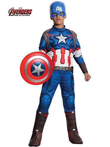 Rubie's Costume Avengers 2 Age of Ultron Child's Deluxe Captain America Costume