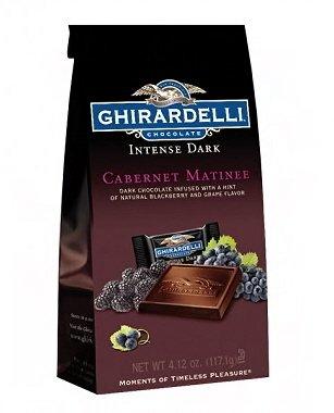 Ghirardelli Chocolate Squares Intense Dark Cabernet