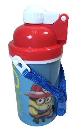 disney-universal-studio-marvel-canteen-water-bottle-with-pop-up-lid-straps-tumbler-cup-despicable-me