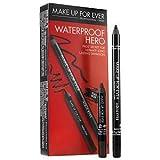 MAKE UP FOR EVER Aqua Waterproof Hero eyeliner black/Brown Duo Set