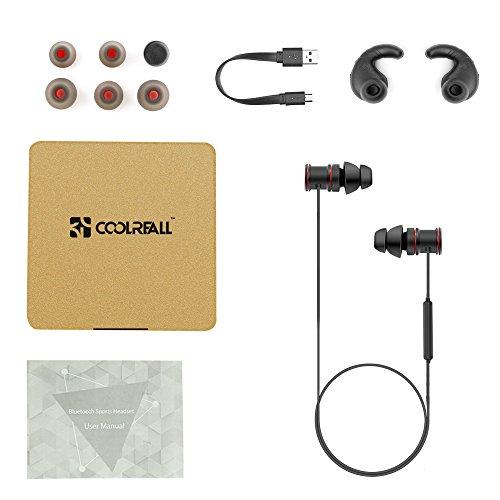 Cuffie Bluetooth 4,1 Coolreall® Auricolari Wireless