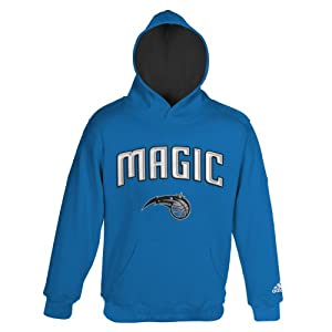 NBA Orlando Magic Youth 8-20 Pull Over Hoodie, Blue by adidas