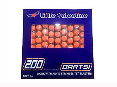 Little Valentine 200-Dart Refill Pack for Nerf N-strike Elite from Little Valentine