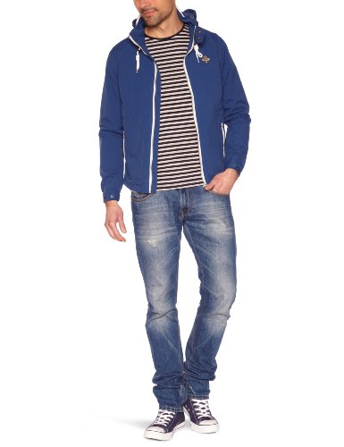 Schott (Brand National) Seal Men's Jacket Denim Blue Medium