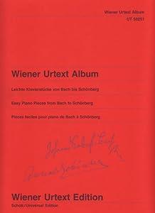 Wiener Urtext Albumeasy Piano Pieces From Bach To Schnbergpiano Leichte Klavierstcke Von Bach Bis Schnberg from Wiener Urtext Edition