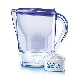 Brita 1008485 Marella Carafe filtrante Violet Lavande 2.4L