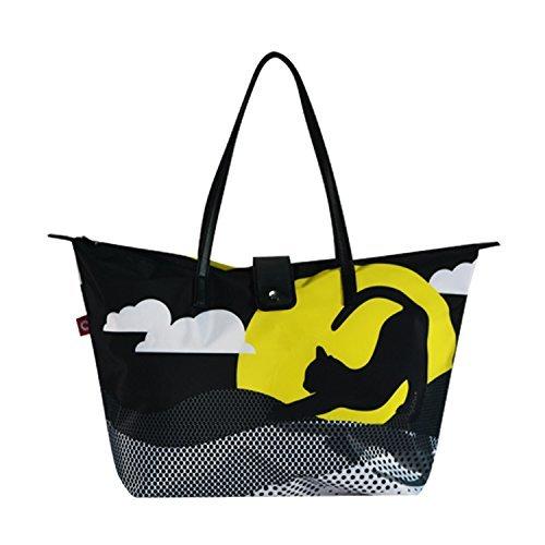 Borsa Shopping Impermeabili Pieghevoli Totes per Shopping/Nuoto/Spiaggia (2S-714)