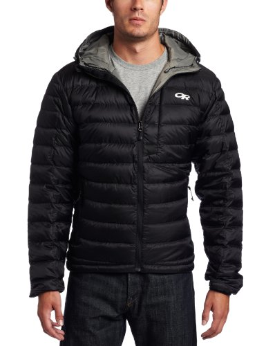 Outdoor Research Men's Transcendent Hoody (Black, Medium)