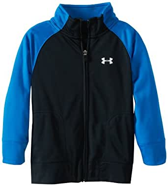 Under Armour Little Boys' Track Jacket, Blue, 2T