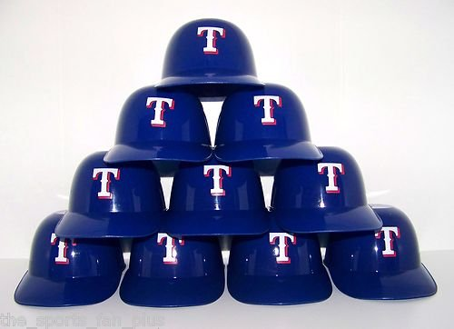 Mlb Texas Rangers Mini Batting .Helmet Ice Cream Snack Bowls- 10pk at Amazon.com