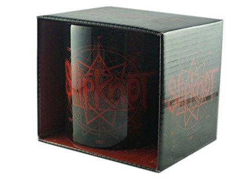 SLIPKNOT-Tazza in ceramica-Logo-confezionato in una confezione regalo.