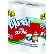 Procter & Gamble 87439 Charmin Ultra Strong Toilet Tissue Pack of 6