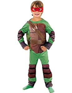 Deluxe Teenage Mutant Ninja Turtle - Childrens Fancy Dress Costume