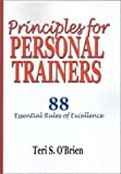 img - for Principles for Personal Trainers by Teri S. O'Brien (2001) Paperback book / textbook / text book