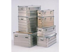 Transportkiste Leichtmetall stapelbar Aussenmaß 600 x 400 x 255 mm  Kundenbewertung und Beschreibung