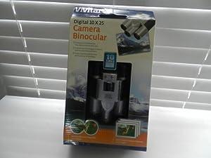 Vivitar Digital 10 X 25 Camera Binoculars